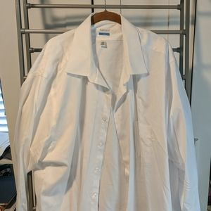 VanHeusen Tall white dress shirt